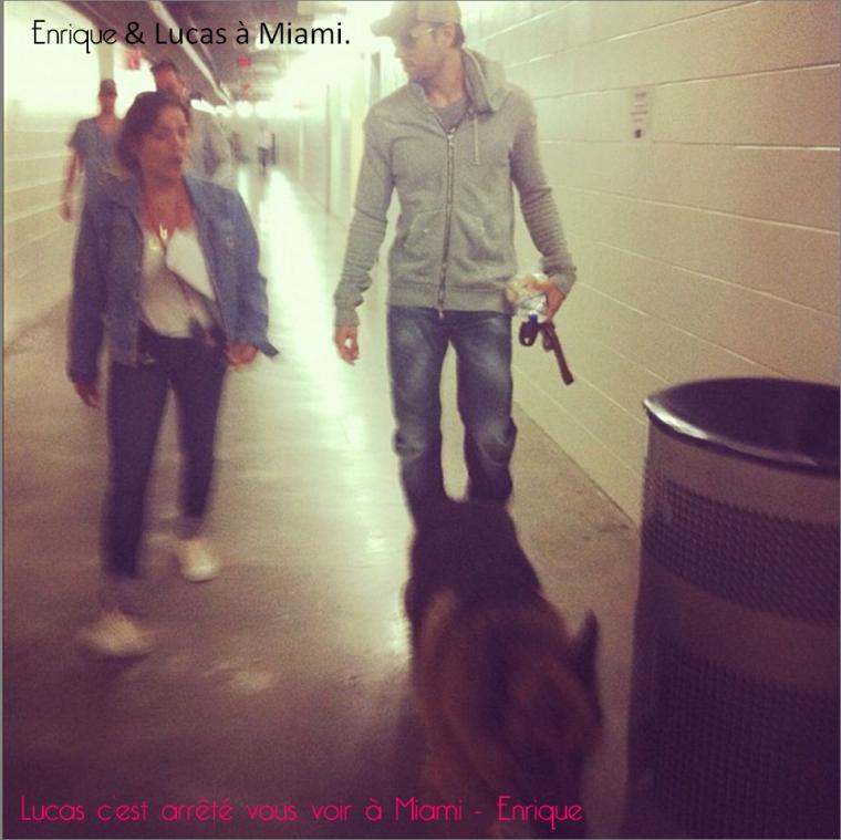 Lucas c'est arrêté vous voir à Miami - Enrique
