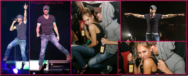 Enrique Jlo tour à Miami (1 Septembre 2012)