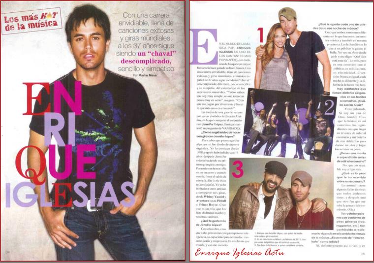Vanidades Magazine, Mexico 2012