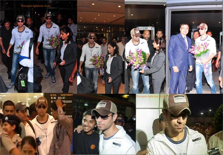 Arrivée en Inde 16/10/2012 + Concert 17/10/2012