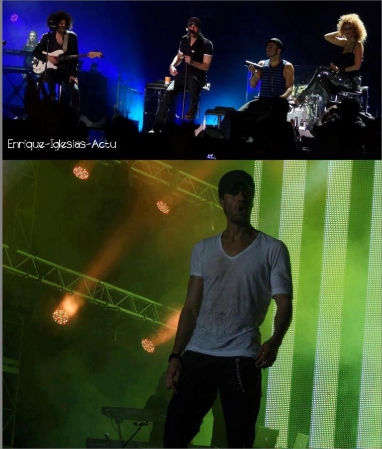 Enrique Iglesias en concert à Bangalore 21/10/2012