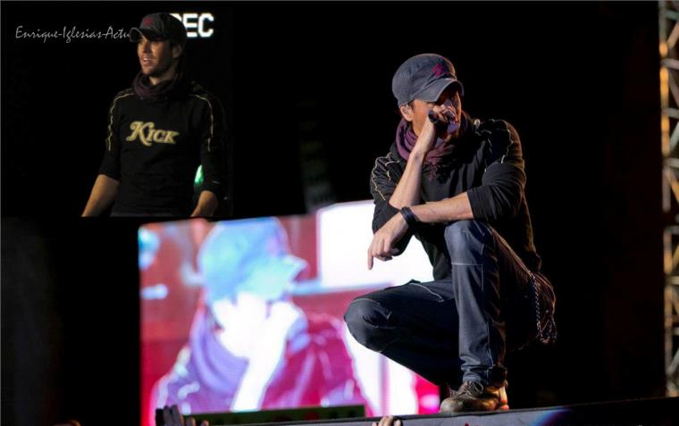 Enrique Iglesias en concert le 24/10/2012 à Istambul