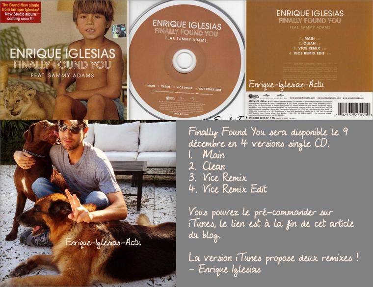 Enrique Iglesias avec ses chiens le 31 Octobre 2012