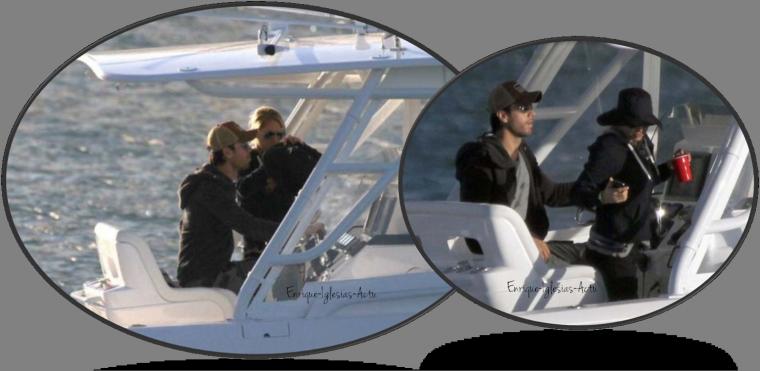 Enrique & Anna en bateau (30 Octobre 2012)