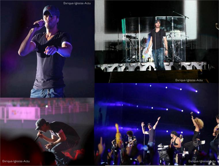 Enrique Iglesias en concert à Puerto Rico le 01/11/2012