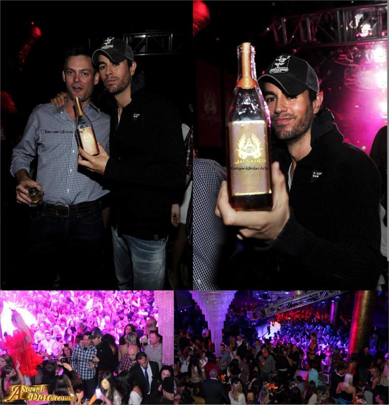 Concert Privé à Vegas pour les Latin Grammy's 14/11/2012