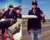 Dimanche 18/11/2012, aux courses de Formule 1 (Austin)
