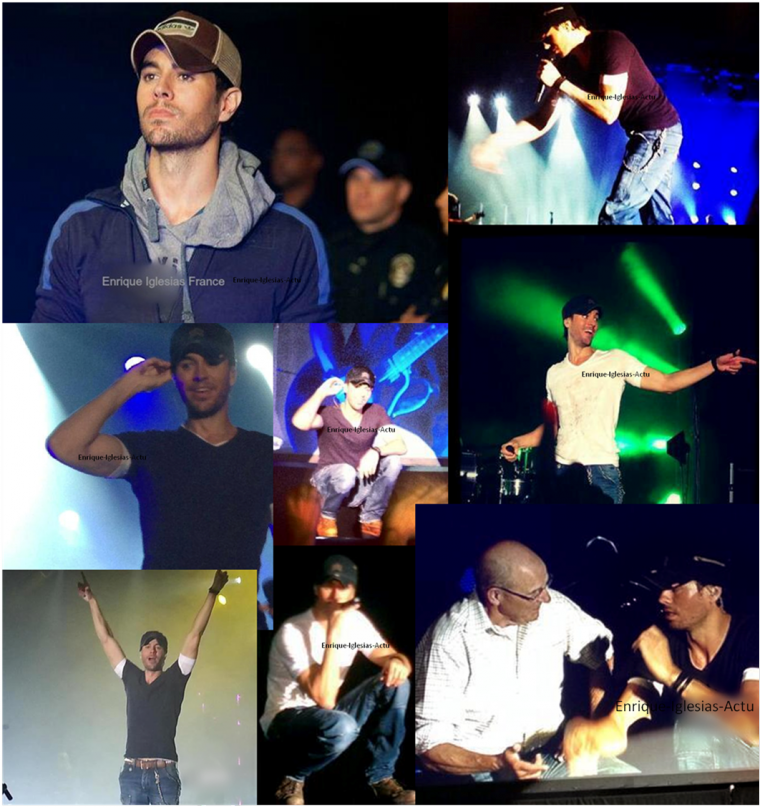 Enrique en concert à Austin Fan Fest le 17/11/2012