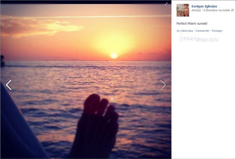 Perfect Miami sunset!