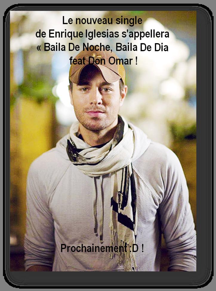 "Nouveau Single, ""Baila De Noche, Baila De Dia"""