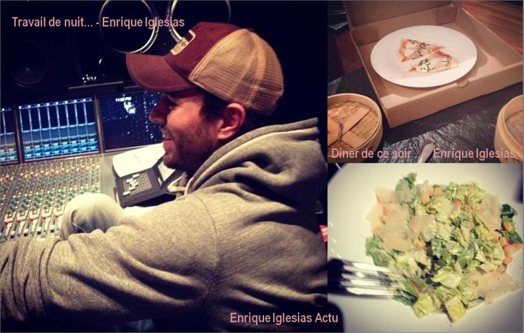 Travail de nuit... - Enrique Iglesias