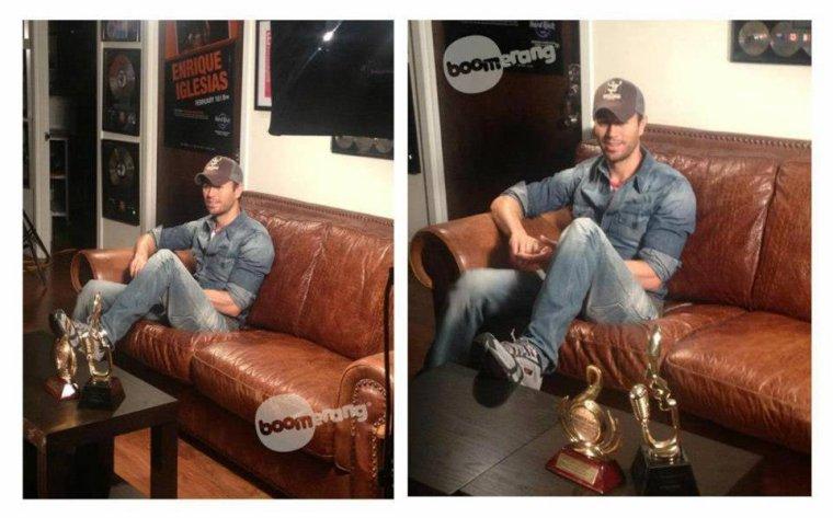 Interview espagnol TV à Miami 25/01/2013