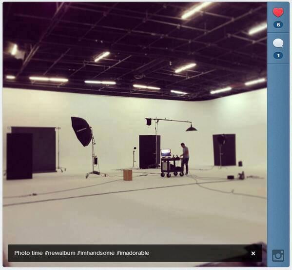 Enrique a fait un photoshoot pour son prochain album !
