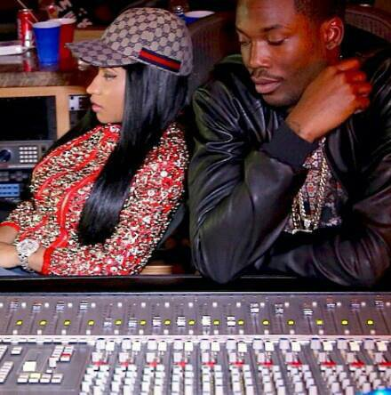 Nicki Minaj au studio