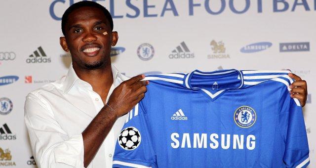 Chelsea (ANG) : Eto'o (Anzhi, RUS) signe