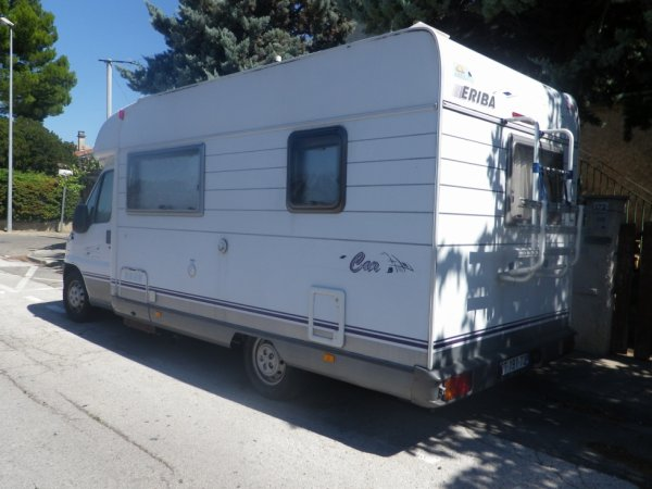 camping car ERIBA sur porteur FIAT DUCATO 2.8 idTD