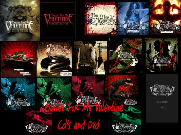 Cdu0027s And Dvd Bullet For My Valentine