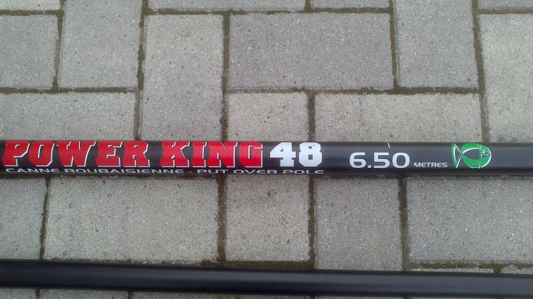 VEND Canne emboitement coup sensas power king 48 6.50m