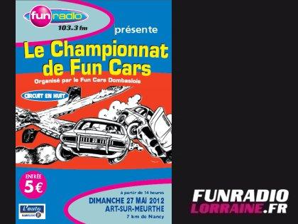 GRAND PRIX de FUN CARS à ART SUR MEURTHE le DIMANCHE 27 MAI 2012 resultats
