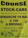 GRAND PRIX DE STOCK CARS DIMANCHE 19 MAI à GANGES  (BRISSAC)