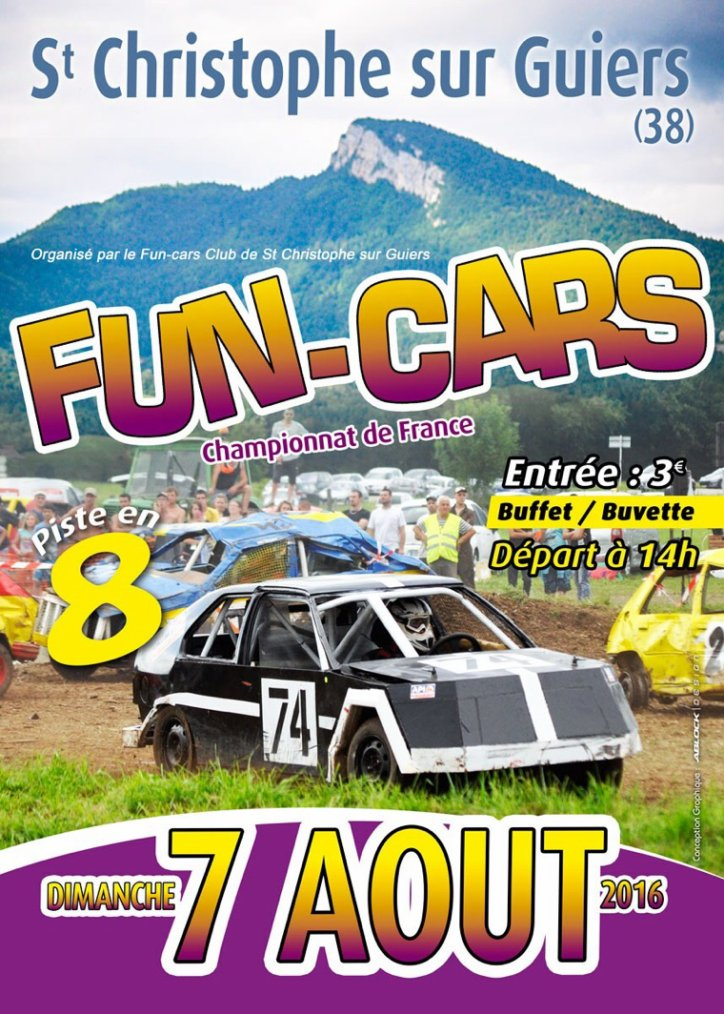 GRAND PRIX DE FUN CARS DE SAINT CHRISTOPHE SUR GUIERS