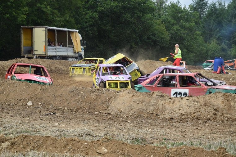 GRAND PRIX DE FUN CARS DE LA CELLE EN MORVAN (SAONE ET LOIRE)
