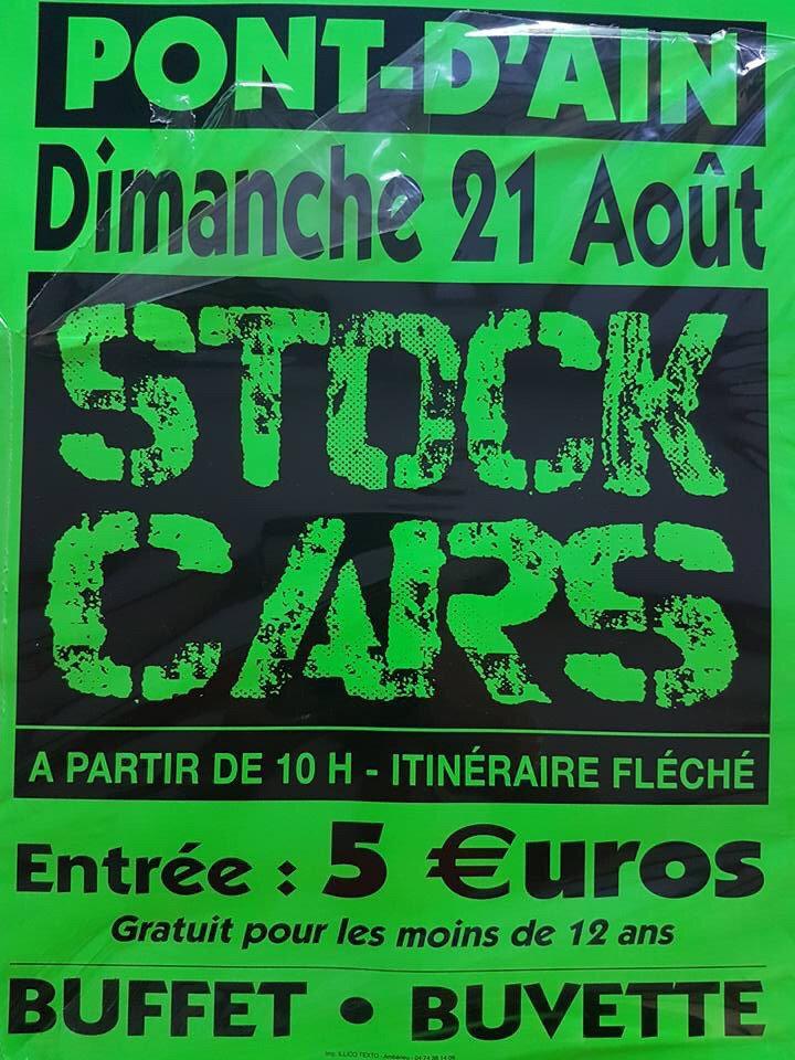 STOCK CARS DE PONT D'AIN (Ain)