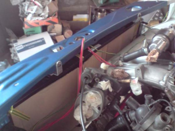 Montage du radiateur de 309