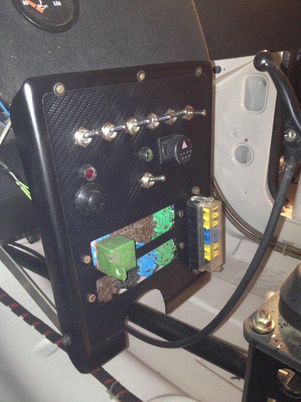 Fabrication de la console central