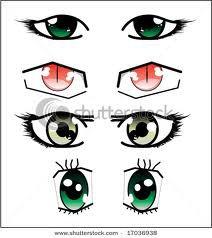 les yeux des Manga