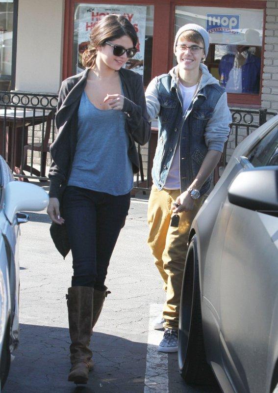 Selena et Justin le 21 Novembre
