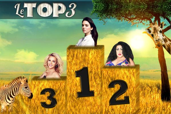 Le top 3 (semaine 2)