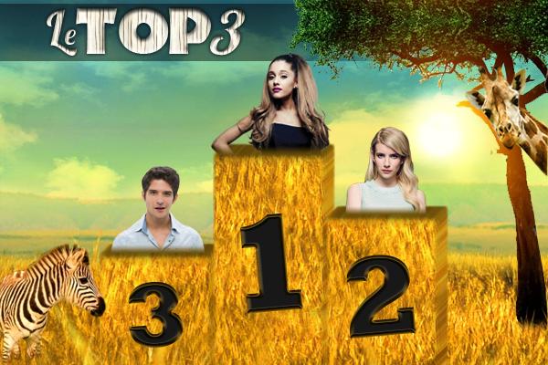 Le top 3 (semaine 3)