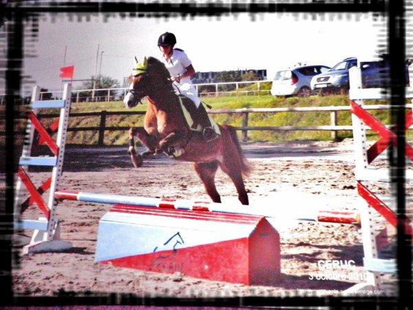Polo et moi en saut
