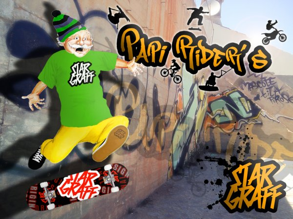 STAR GRAFF PRESENTE : PAPI RIDER'S - LE CREW SPORTIF MADE IN SAVOIE 73