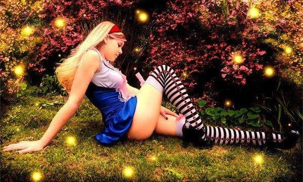 cosplay gambe