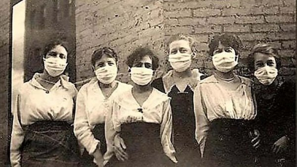 la spangola 1918-1920: 50 milion di morti