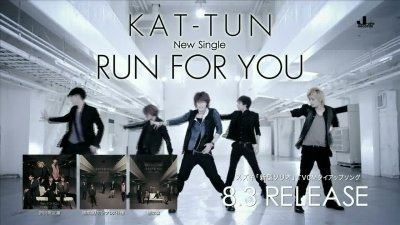 le nouveau kat tun run for you