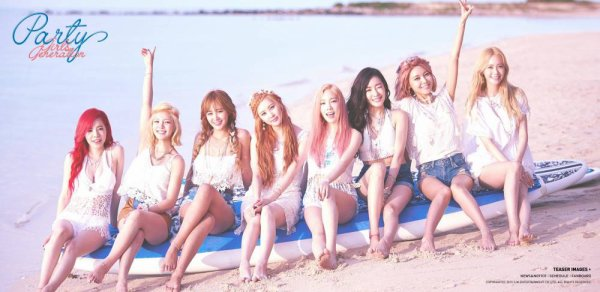 Girl's Generation Party