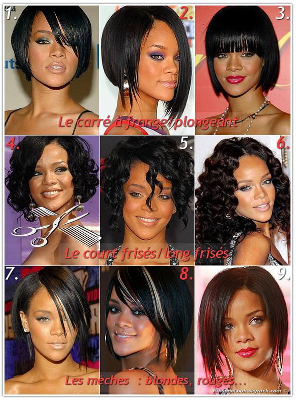 Rihanna Une Veritable Icone De La Mode Mais Egalement Une Icone Capillaire Pour De Nombreuses Jeunes Femmes Hairstyle 1 2fin 2007 Rihanna Decide De Se Couper Les Cheveux Contre L Avis