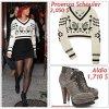 """# # Rihanna porte  un pull  """" Proenza   """" qui coûte 2,050 $ !, des boots  """"  Alaïa """" qui coûte 1,710 $ !  Remarque *  La chanteuse Rihanna a été aperçue quittant une fois de plus le somptueux restaurant italien « Da Silvano » à New York. La belle arborait une jolie petite tenue hibvernale, vêtue : d'un mini pull-over, d'une jupe noire taille haute, d'un collant noir transparent, d'une adorable paire de boots façon """"randonneur"""" signée  Alaïa, de nombreux bijoux comme son collier """"F*ck You"""" et un petit béret sur la tête.  Le clip tant attendu """"What's my name""""  est désormais disponible, On  découvre une Rihanna tombant folle amoureuse du rappeur canadien Drake... Je ne vous en dit pas plus et je vous laisse apprécier par vous même ! VOIR LA VIDÉO"""