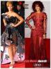 » Robyn Rihanna Fenty aux : AMERICAN MUSIC AWARDS . 2009 / 2010 ! Choisissez votre tenue favorite entre 2009 et 2010