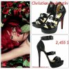 """# # Rihanna porte  des sandales  """" Christian Louboutin  """"  qui coûte   2,455 $ ! Remarque *    Voici encore une autre photo  de Rihanna pour l'édition anglaise du magazine GQ en véritable  femme fatale. Une Rihanna très séduisante, allongé sur un lit de rose, vêtue de sous-vêtements noirs et d'une paire de sandales Louboutin aux pieds ! Décidément, La chanteuse cartonne sur tous les points cette année, Une Rihanna  vraiment au top de sa forme physique comme professionnellement parlant ! (Partie  3/3)"""