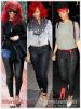 """» Voici quelques """" leggings/pantalons  """" que la chanteuse Rihanna a porté  : Choisissez votre legging/pantalon    favori !  Article  collaboration avec Magic-Fenty"""