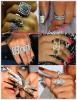 """» Voici quelques """" bagues  """" que la chanteuse Rihanna a porté  : Choisissez votre  bague    favorite !  Article  collaboration avec OnlyRobyn"""
