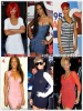 """» Voici quelques """" robes moulantes  """" que la chanteuse Rihanna a porté  : Choisissez votre  robe moulante    favorite !  Article  collaboration avec Crispy-Fenty"""
