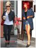 » Un air de déjà vu ... Ashley Tisdale et Rihanna ont craqué sur les  mêmes derbys ! Un détail qui n'a pas échappé à la Fashion Police de RihannaLook ! Alors ... votre préférence ?