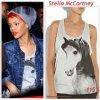 """# # Rihanna porte un T-shirt   """" Stella McCartney  """"  qui coûte   115 $ ! Remarque * Il y a quelques jours, Rihanna s'est rendue dans le nightclub « My Studio » à Los Angeles en compagnie de sa meilleure amie d'enfance : Mélissa. La belle originaire de la Barbade portait : une jolie veste en jean, un T-shirt gris Stella McCartney dessous et bonnet gris sur la tête, Un bon look simple pour un résultat  toujours aussi efficace  !"""