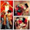 """# # Rihanna porte un jupon   """" Kate Halfpenny  """" conçu spécialement pour elle. Remarque * En 2010, Rihanna était présente à Madrid, en Espagne, pour la cérémonie des MTV Europe Music Awards. La princesse de la Barbade avait interprété son tube """"Only Girl (in the world)"""", extrait de son cinquième album Loud. Rihanna avait enflammer  les MTV Europe Music Awards, avec une incroyable mise en scène; un grand  jardin de fleurs ! La chanteuse portait une petite robe blanche associée a un jupon décoré de fleurs conçu spécialement pour elle par Kate Halfpenny. VOIR LA VIDÉO   D'ailleurs Rihanna  récemment réutilisé ce jupon pour ses dernières dates de sa tournée « The Last Girl On Earth Tour » en Australie. VOIR LA VIDÉO"""