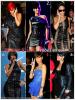 """» Voici quelques """" robes en cuir  """" que la chanteuse Rihanna a porté  : Choisissez votre  robe en cuir    favorite !  Article  collaboration avec FlashBack-Rihanna"""